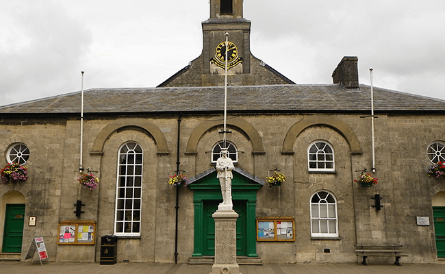 Town Council Building near Llantwit Major